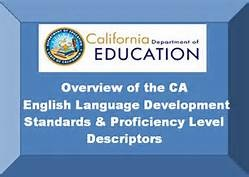 Overview of the CA English Language Development Standards